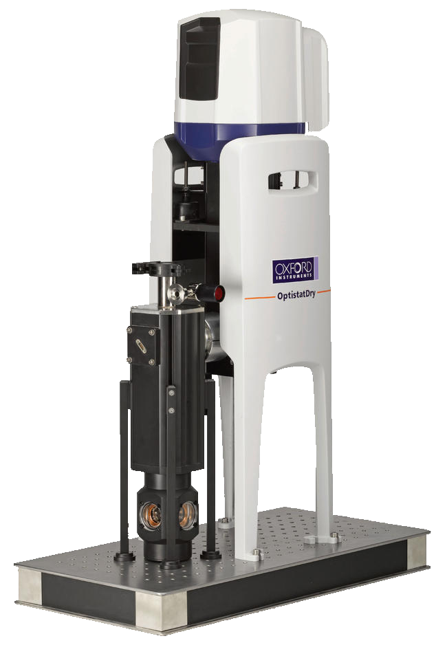 OptistatDry TLEX - Spectroscopy, cryostats, wet cryostats, sample-in-exchange gas and top-loading cryostat for low temperature research and cryogenics